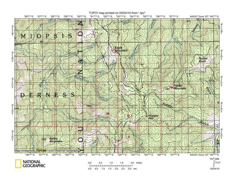 Map problem 1